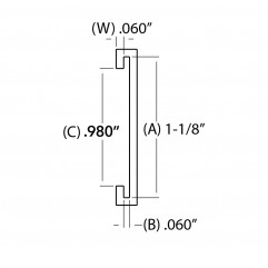 C Channel - Extrusions
