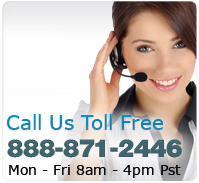 Call us toll free at 888-871-2446.