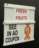 Sign Boards / Aisle Markers