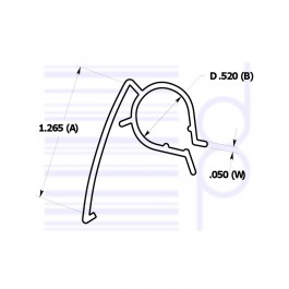 1-1/4 IN. Wire Clip (31.75mm)