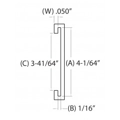 4 IN. C-Channel (101.6000 mm)