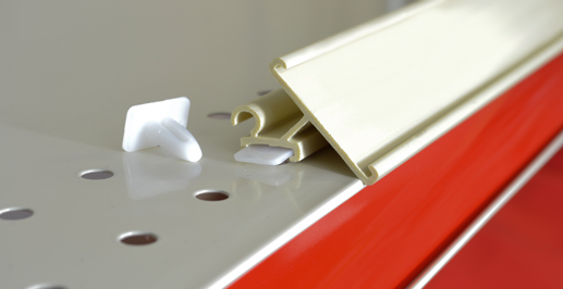 Invisa-Trak® Shelf Rails