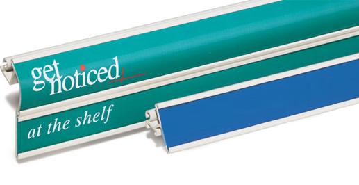 Shelf Rails Price Tag Holders